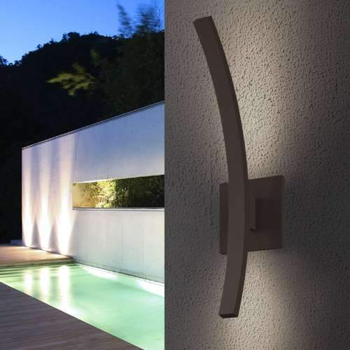 L'Arc Outdoor LED Wall Sconce - Display