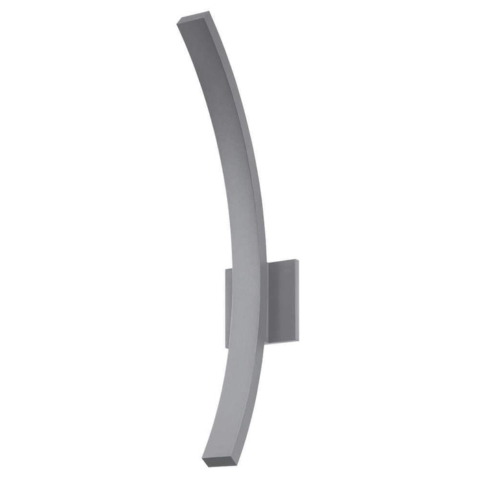 "L'Arc 24"" Outdoor LED Wall Sconce - Gray"
