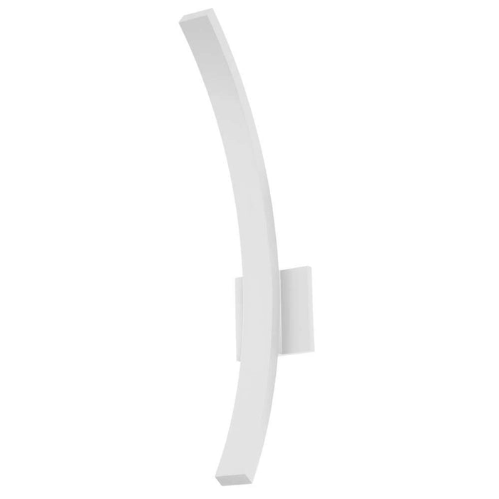 "L'Arc 24"" Outdoor LED Wall Sconce - White"