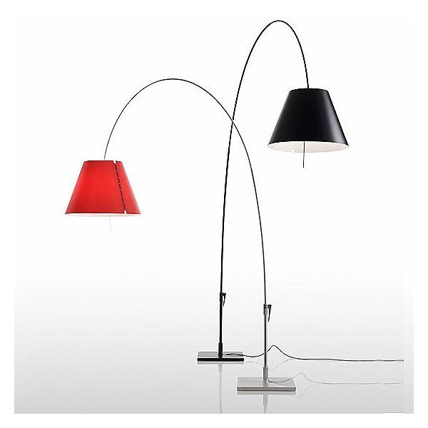Lady Costanza Floor Lamp - Red & Black
