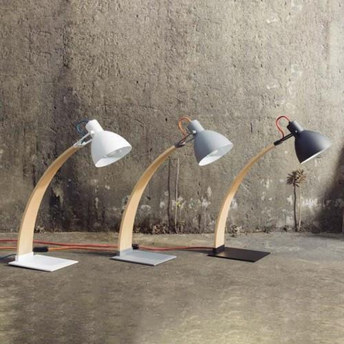 Laito Wood Table Lamp - Display