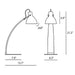 Laito Wood Table Lamp - Diagram