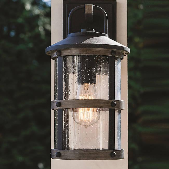 Lakehouse Outdoor Wall Sconce - Display