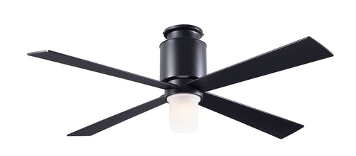 Lapa Flush Ceiling Fan - Black (LED Light)