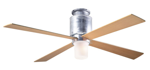 Lapa Flush Ceiling Fan - Maple (LED Light)