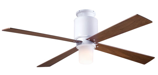 Lapa Flush Ceiling Fan - Mahogany (LED Light)