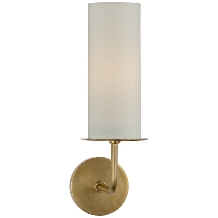 Larabee Single Sconce - Soft Brass
