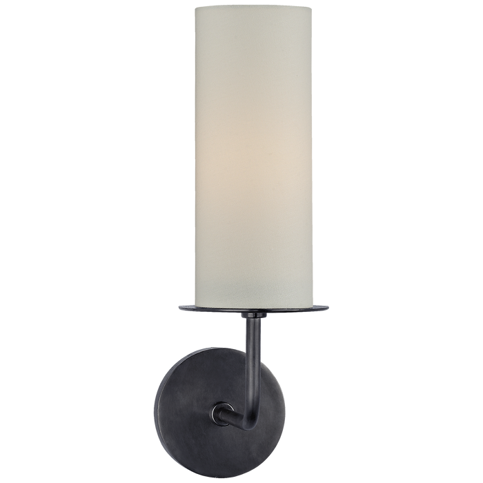 Larabee Single Sconce - Gun Metal