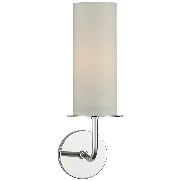Larabee Single Sconce - Polished Nickel