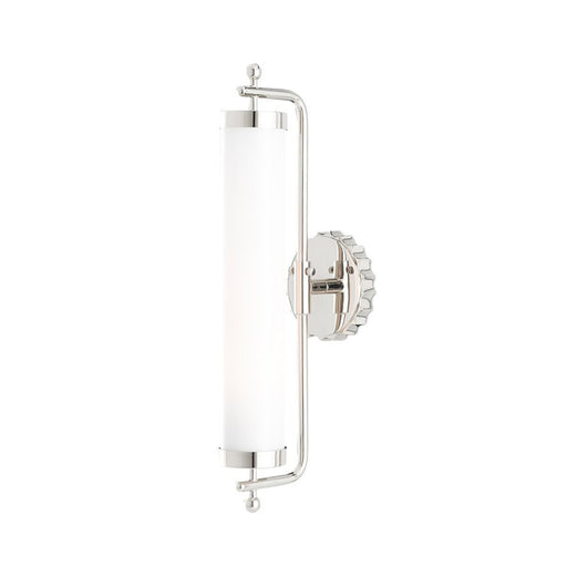 Latimer Wall Sconce - Polished Nickel Finish