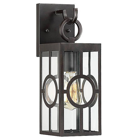 Lauren Small Outdoor Wall Sconce - English Bronze