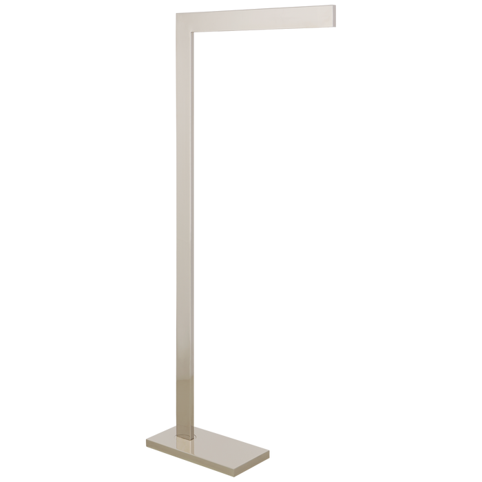 Lecce Pharmacy Floor Lamp - Polished Nickel Finish