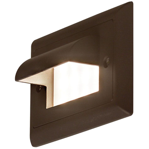 Ledra Horizontal Cove Step Light Bronze Finish