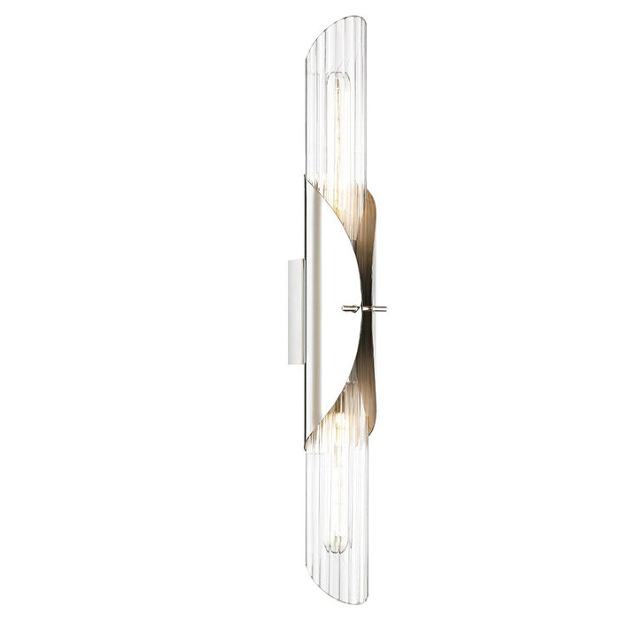 Lefferts Wall Sconce - Polished Nickel