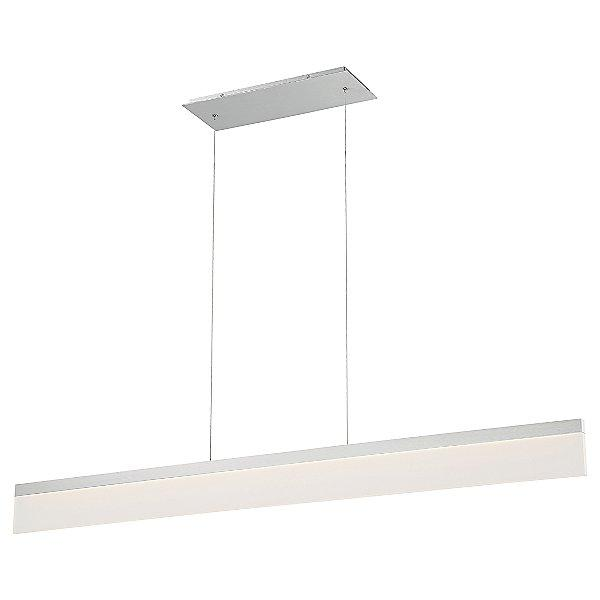 "48"" Level LED Linear Chandelier - Aluminum"