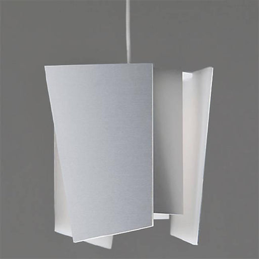 Levis L LED Pendant - Brushed Aluminum Finish