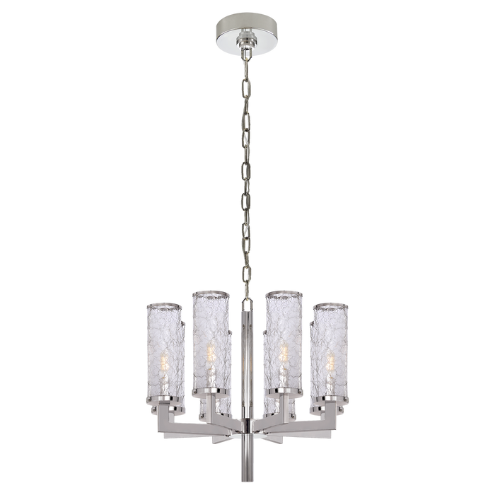 Liaison Single Tier Chandelier - Polished Nickel