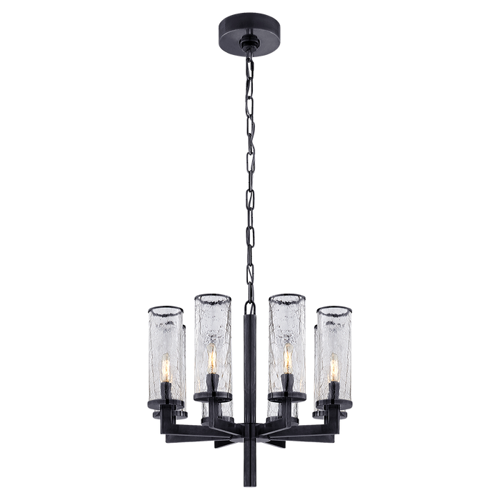 Liaison Single Tier Chandelier - Bronze