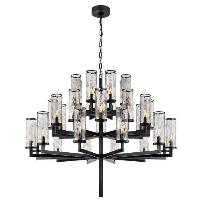 Liaison Triple Tier Chandelier - Bronze