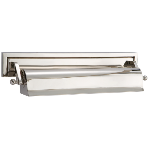 Library Medium Picture Light - Polished Nickel Finish