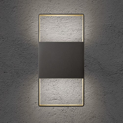 "Light Frames 14"" Up Down Outdoor LED Wall Sconce - Display"