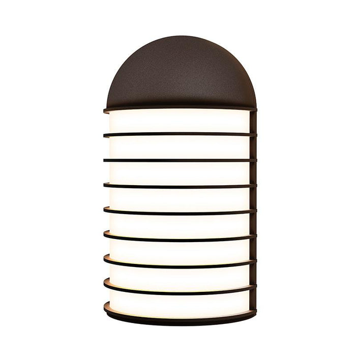 Lighthouse Big LED Outdoor Wall Sconce - Textured Bronze Finish