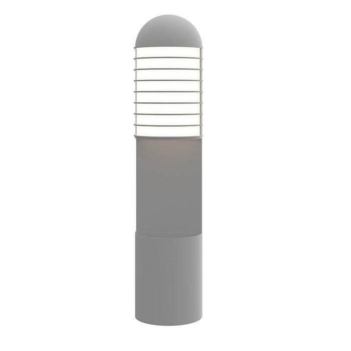 Lighthouse LED Outdoor Planter Wall Sconce - Textured Gray Finish