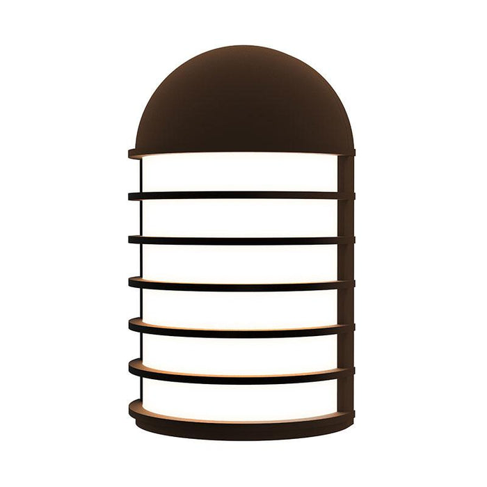 Lighthouse Short LED Outdoor Wall Sconce - Textured Bronze Finish