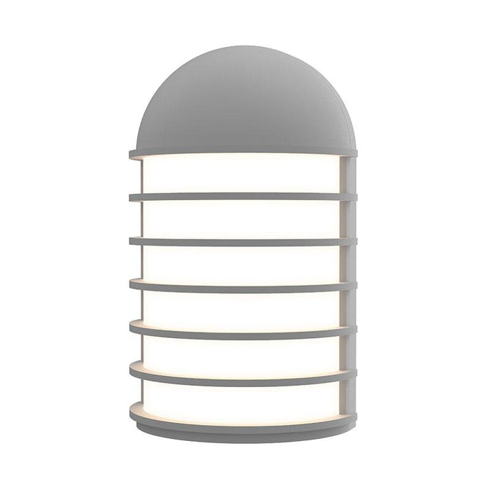 Lighthouse Short LED Outdoor Wall Sconce - Textured Gray Finish