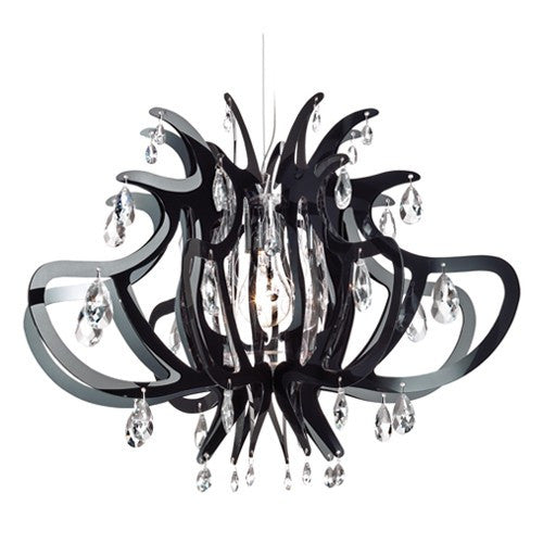 Lillibet Chandelier - Black Finish