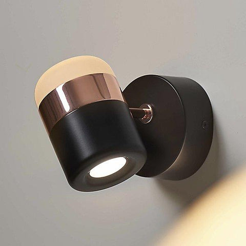 Ling Wall Sconce - Black/Copper Finish