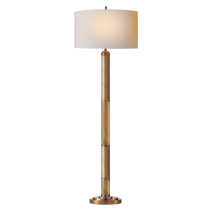 Longacre Floor Lamp - Hand-Rubbed Antique Brass