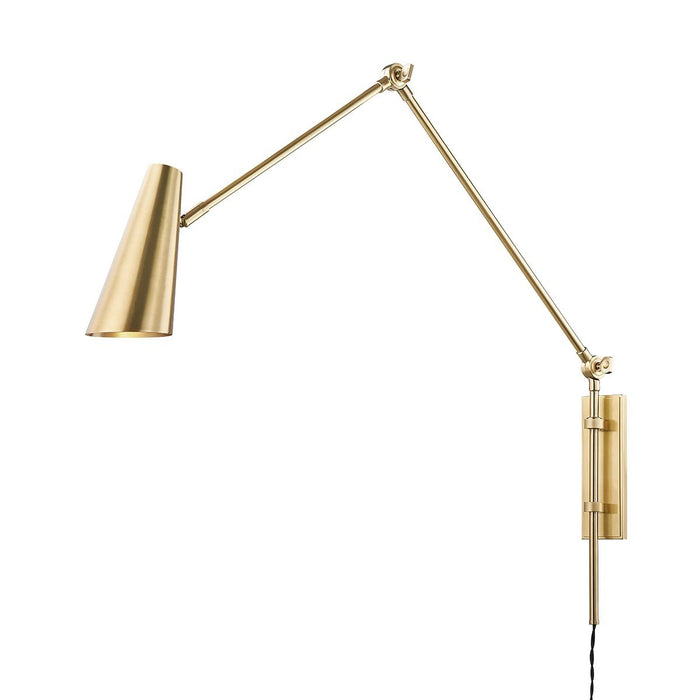 Lorne Wall Sconce - Aged Brass
