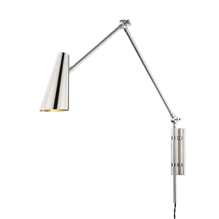 Lorne Wall Sconce - Polished Nickel