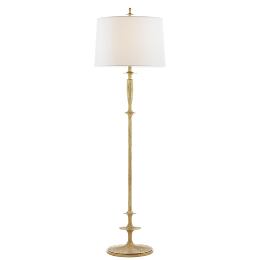 Lotus Floor Lamp Gold