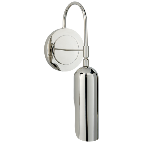 Lucien Functional Wall Light - Polished Nickel