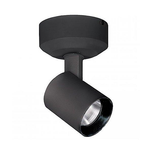 Black Lucio 10W LED Spotlight - Black