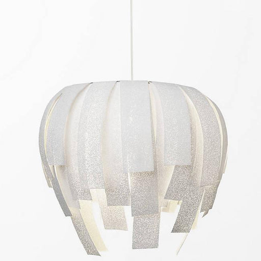 Luisa Large Pendant - White Finish
