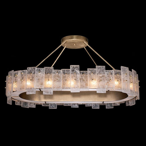 Lunea Linear Suspension - Gold Leaf Finish