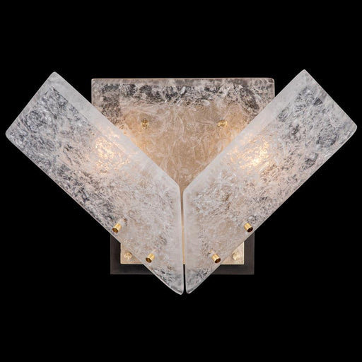 Lunea Wall Sconce - Gold Leaf Finish
