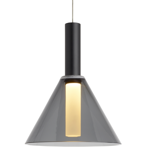 MEZZ PENDANT Transparent - Smoke Finish