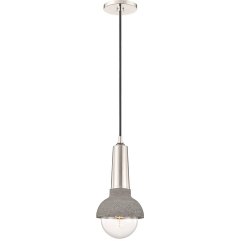 Macy Pendant - Polished Nickel