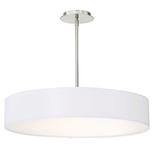 "Manhattan 26"" LED Pendant Light - Brushed Nickel"