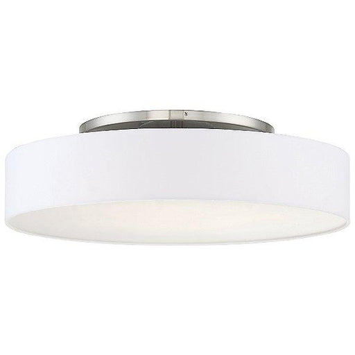 "Manhattan 26"" Semi-Flush Mount - Brushed Nickel"