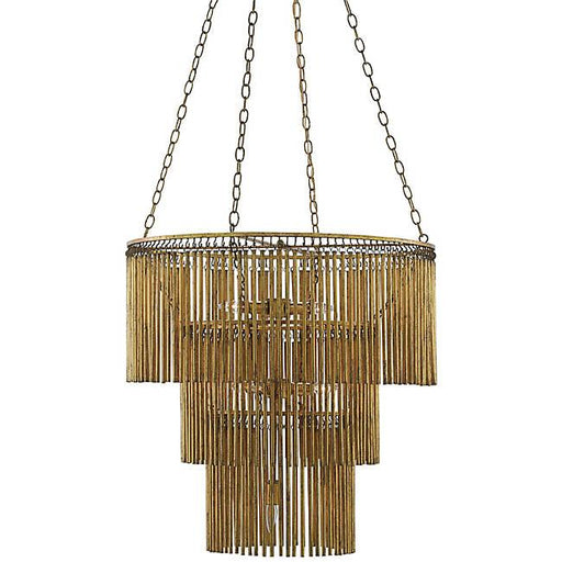 Mantra Chandelier - Gold Leaf