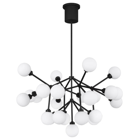 Mara LED Chandelier - Matte Black
