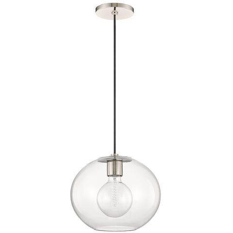 Margot Large Pendant - Polished Nickel