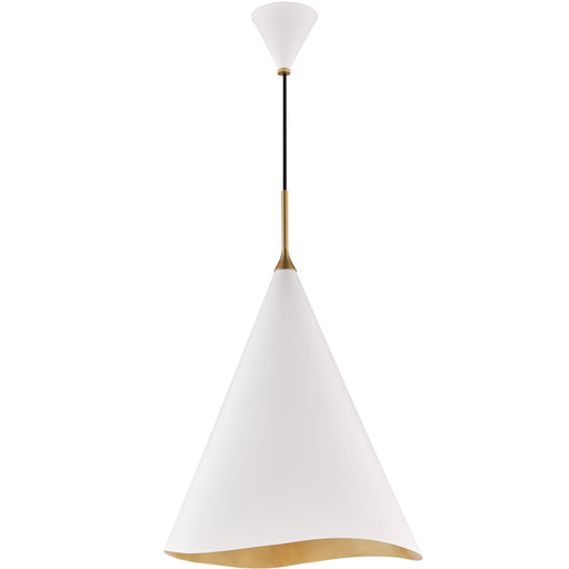 Martini Large Pendant  - White