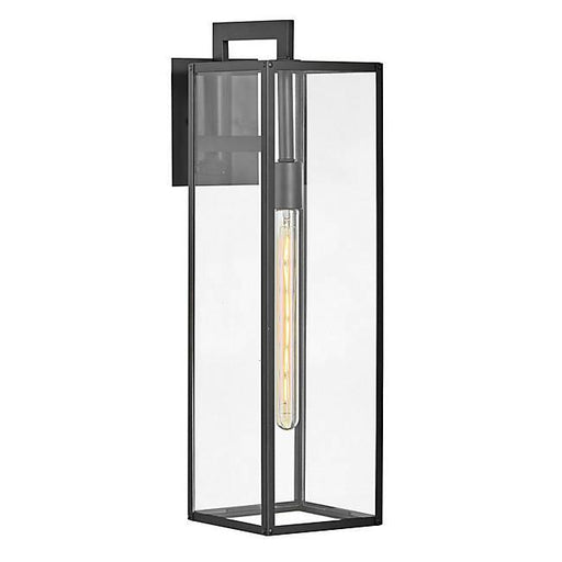 Max Large Outdoor Wall Sconce - Black Finish