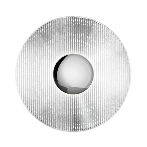Meclisse LED Wall Sconce - Polished Chrome Finish with Clear Glass